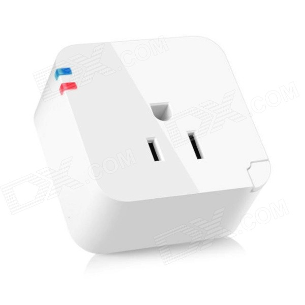2200W Wi-Fi APP Remote Control Intelligent Smart Power Socket - White (US Plug) intelligent control of industrial and power systems