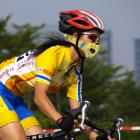 NUCKILY PK03 Windproof Dust-Proof Anti-haze Cycling Mouth Mask - Yellow