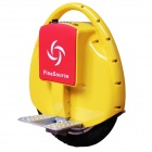 Fine Source FS-09 Electric Balancing Unicycle Wheelbarrow Monocycle - Yellow + Red