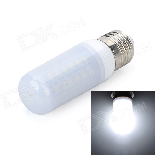 Marsing E27 Frosted Cover 10W 900lm 6500K 56-SMD 5730 LED Cool White Light Bulb Lamp (AC 220~240V)) marsing e27 frosted cover cross 10w 900lm 3500k 56 x smd 5050 led warm white light bulb ac 220v