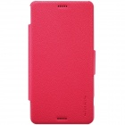 NILLKIN Protective PU-Leder + PC Kasten-Abdeckung für Sony Xperia Z3 Compact - Red