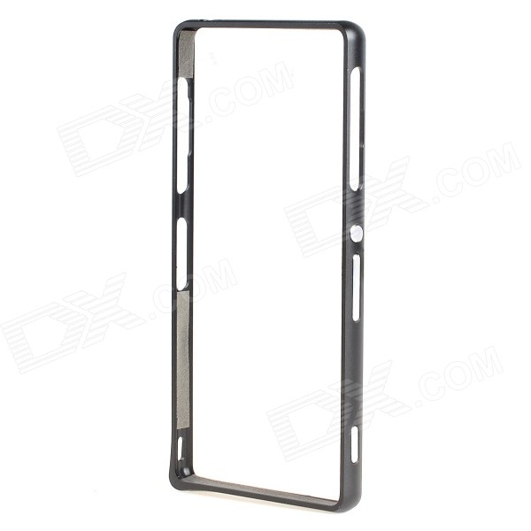 Ultra-Slim Aluminum Alloy Bumper Frame Case for Sony Xperia Z3 - Black - DXMetal Cases<br>Color Black Model N/A Material Aluminum Alloy Quantity 1 Piece Shade Of Color Black Compatible Models Sony Xperia Z3 Packing List 1 x Bumper Frame<br>