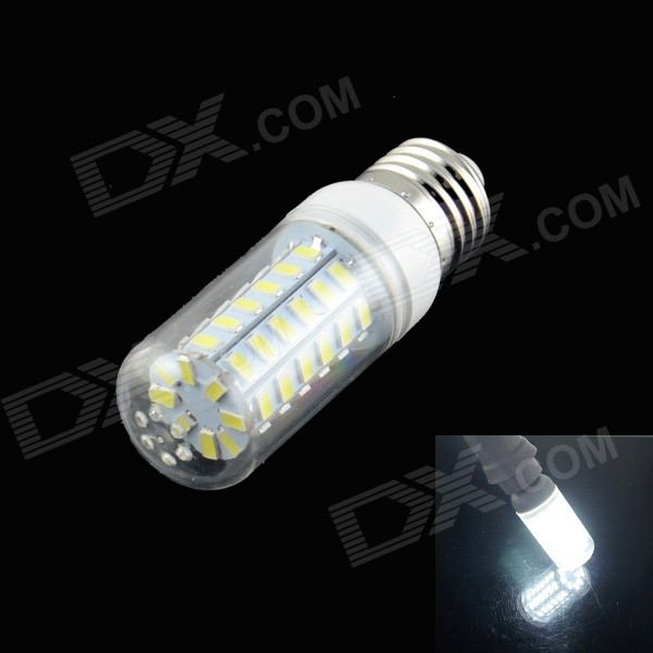 HZLED E27 5W LED Neutral White Light Bulb - White (220~240V)