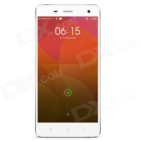 No.1 MI4 Android 4.2 Quad Core 3G Smartphone w/ 5.0 IPS, 1GB RAM, 16GB ROM, GPS, OTG, WiFi - White vkworld vk460 android 4 4 quad core 3g phone w 4 5 ips gps 1gb ram 4gb rom wifi pink