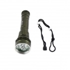 KINFIRE High Waterproof 5-LED 2800lm 3-Mode Diving Flashlight - Black (2 x 18650 / 26650)