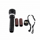 KINFIRE Waterproof 4-LED 2400lm 3-Mode Diving Flashlight (2*18650)