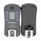 YONGNUO RF605N Wireless Flash Trigger Transceiver for Nikon DSLR Camera - Black (2 PCS)