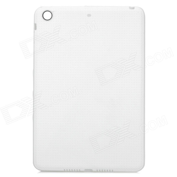 Protective TPU Back Case for IPAD MINI 3 - White g case slim premium чехол для apple ipad mini 4 white