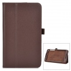 Protective PU Smart Case w/ Stand for ASUS Fonepad 8 / FE380CG - Brown