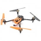8927V 4-CH 2.4GHz 6-Axis R/C Quadcopter w/ Gyro / 1.3MP Camera / LCD / Lamp - Orange + Black