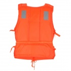 Vest Jacket w / Whistle para Adulto salva-vidas-laranja