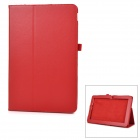 Protective Flip-Open PU-Fall-Abdeckung w / Auto-Aus / Stand für Asus T200ta - Red