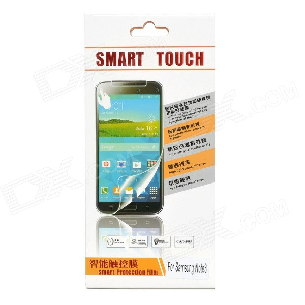 Tempered Glass Smart Screen Protector Film Guard for Samsung Galaxy Note 3 - Transparent protective matte frosted screen protector film guard for nokia lumia 900 transparent