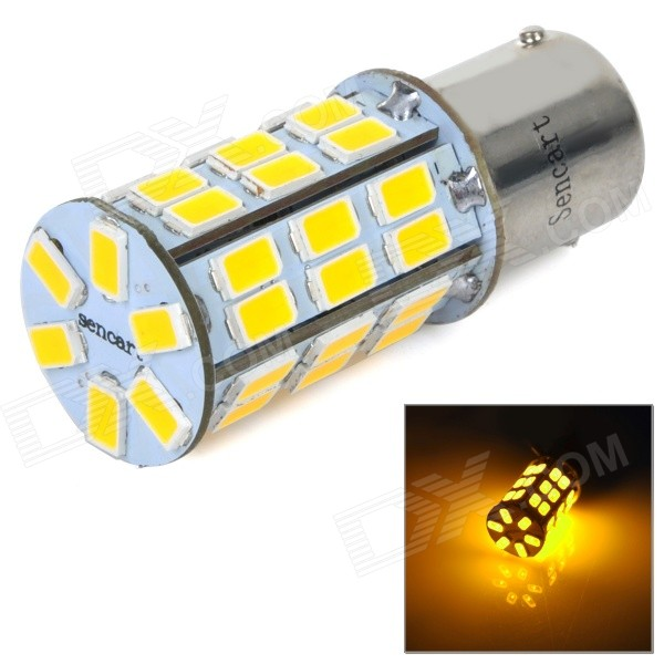 1156 5W 270lm 3500K 2-Mode 42-SMD 5630 LED Warm White Car Brake Light / Backup Lamp (DC / AC 12~16V)
