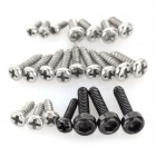 Wltoys V931-004 Replacement Screws Set for V931 R/C Helicopter - Black + Silver