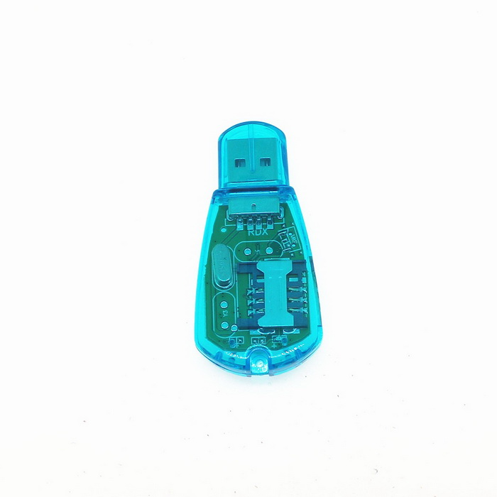 GSM/CDMA/WCDMA SIM Card Reader - Translucent Blue