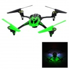 "8927V 4-CH 2.4GHz 6-Axis Gyro R/C Quadcopter w/ 1.3MP Camera / 1.4"" LCD / LED - Green + Black"