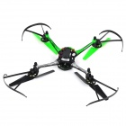 "8927V 4-CH 2.4GHz 6-Axis Gyro R / C Quadcopter w / cámara 1.3MP / 1.4"" LCD / LED - Verde + Negro"