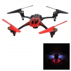 8927V 4-CH 2.4GHz 6-Axis Gyro R/C Quadcopter with 1.3MP Camera / 1.4'' LCD / LED - Red and Black - R/C Airplanes and Quadcopters Hobbies and Toys
