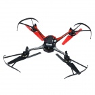 "8927V 4-CH 2.4GHz 6-Axis Gyro R/C Quadcopter w/ 1.3MP Camera / 1.4"" LCD / LED - Red + Black"