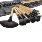 MeGooDo CB82069 maquillage brosse cosmétiques Set 32-en-1 professionnel féminin w / Roll-up Carrying Case