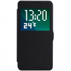 NILLKIN Fresh Series Protective Flip Open PU Leather + PC Case for HTC Desire 820 - Black