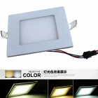 ZHISHUNJIA HX6+6 12W 800lm 6000K-3000K-4500K 24-SMD 5630 LED Changeable Light Ceiling Lamp (85~265V)