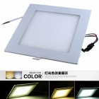 ZHISHUNJIA 24W 1600lm 6000K-3000K-4500K 48-SMD 5630 LED Changeable Light Ceiling Lamp (85~265V)