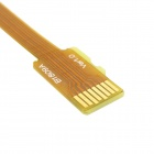 CY TF Card Miehiä Extension Flat FPC Cable - Yellow (10cm)