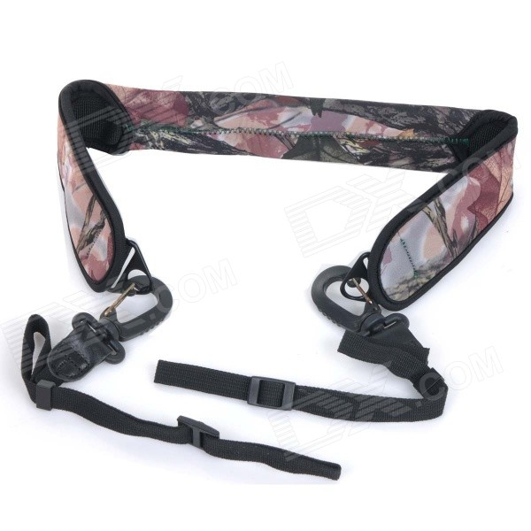LYNCA LY-102 Universal Camouflage Pattern Elastic Decompression Strap w/ Buckle for DSLR