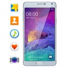 "NO.1 NOTE 4 Android 4.4.2 Quad-Core 3G Phone w/ 5.7"" IPS, 8.0MP, 8GB ROM, OTG, BT, WiFi, GPS - White"
