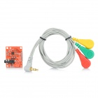 Buy 3.3V ECG Monitor Sensor Module Arduino - Red (Works Official Boards)