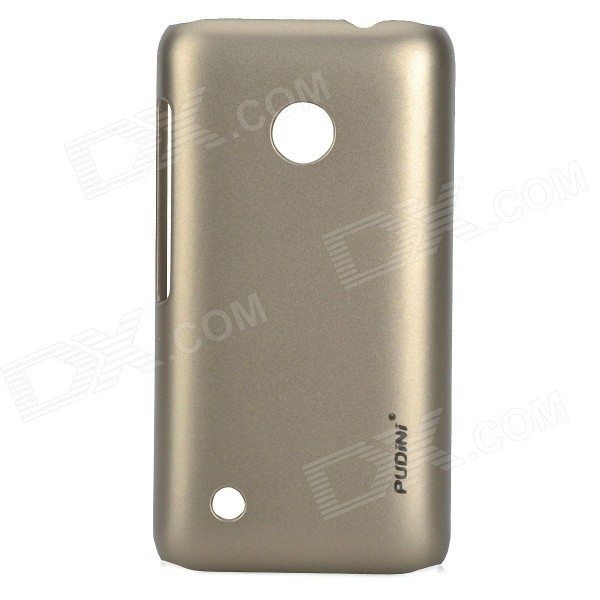 все цены на PUDINI Protective PC Back Case for Nokia Lumia 530 - Champagne Gold онлайн