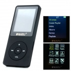 "RUIZU X02 1.8"" TFT LCD Rechargeable Digital Voice Recorder MP3 Player w/ TF - Black (4GB)"