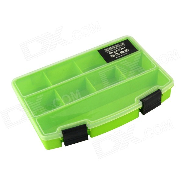 YWCY 2287 Plastic Tool Storage Box - Green