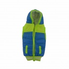 Universal Cute Funny Jacket Style Cellphone Bag - Blue + Fluorescent Green