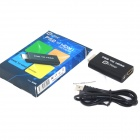 HORAS OT-G300 PS2 para HDMI conversor de jogo w / mini-USB / 3.5mm - preto