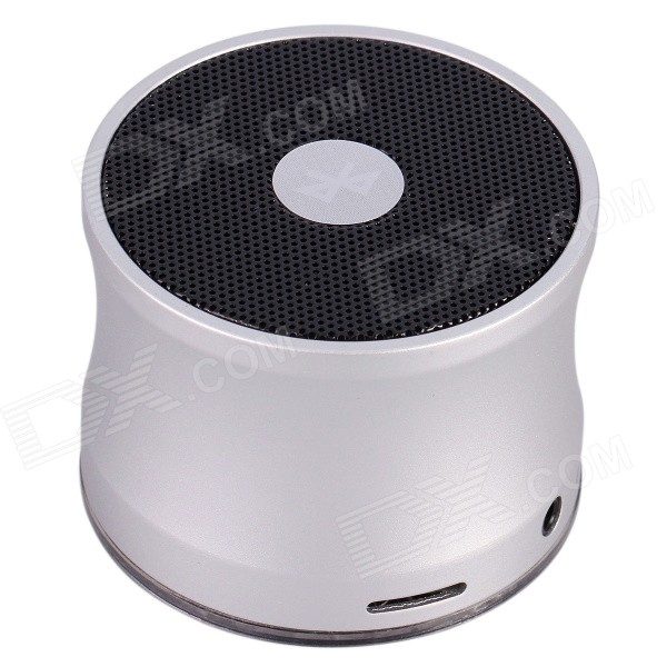 Aoluguya B210 Mini Portable Subwoofer Bluetooth V2.1 Speaker w/ Mic., TF, Mini USB - Silvey White new laptop keyboard for acer aspire v3 431 v3 471 v3 471g v3 472 v3 472g v3 472p v3 472pg v3 372 gr german layout