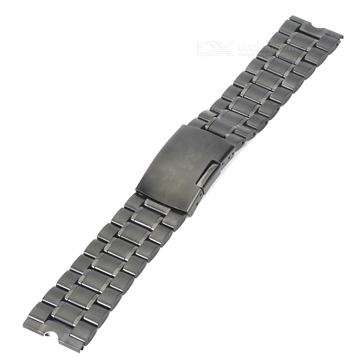 TOCHIC Stainless Steel Watch Band for Motorola Moto 360 Smart Watch - Black