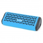 SLANG X7 Portable Outdoor Bluetooth Subwoofer Speakers w/ FM / TF / Hands-free - Sky Blue + Black