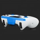 "IPEGA 9028 Wireless Bluetooth Game Controller JoyStick w/ 2"" Touch Pad - White + Blue"