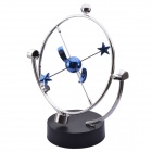 NEJE Kinetic Orbital Desk Decoration Celestial Newton Pendulum - Silver + Blue