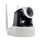 "EYE SIGHT ES-IP922W 1/4"" CMOS 1.0MP 720P IP Camera w/ Dual Wi-Fi Antennas / 11-IR-LED / IR-CUT / SD"