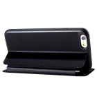 "Flip-open Case w/ Stand / Display Window for 4.7"" IPHONE 6  - Black"
