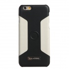 KALAIDENG Car Mounted Special Back Case for IPHONE 6 - White + Black