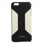 KALAIDENG Car Mounted Special Back Case for IPHONE 6 PLUS - White + Black