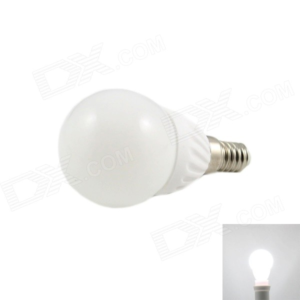 dimmable e14 7w 560lm 6000k cob led white light bulb white ac 220v free shipping dealextreme. Black Bedroom Furniture Sets. Home Design Ideas