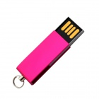Mini USB 2.0 Flash Drive - Deep Pink (8GB)