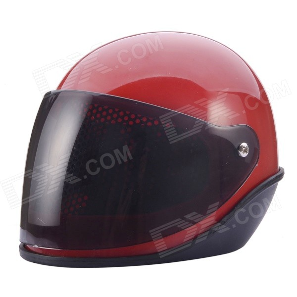 NEJE GZ0015-4 Novel Racing Helmet Style Alarm Clock - Red + Black (2 x AAA)