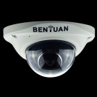 BENYUAN 1/3'' CMOS 1080P 2.0MP 180 Degrees Wide Angle Surveillance Indoor Camera - White